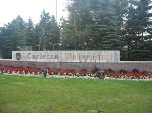 Carleton University entrance