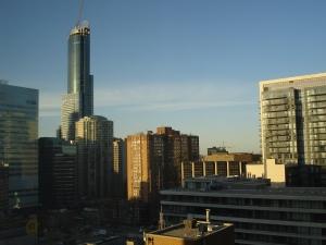 Toronto's Aura constructio