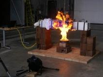 Pool fire test